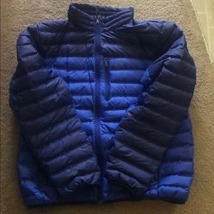 Gerry Lightweight Down Puffer Jacket 650 Fill Blue